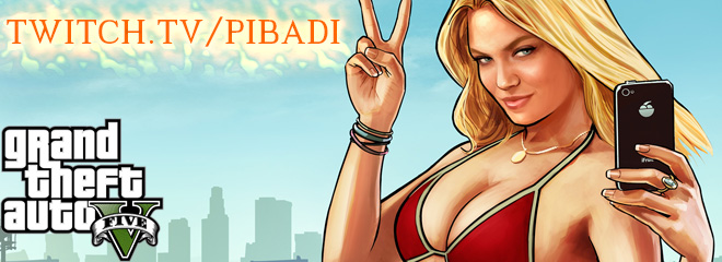 GTA V with Pibadi