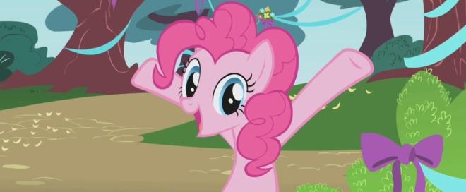 Пинки Пай уже готова организовать вечеринку!
