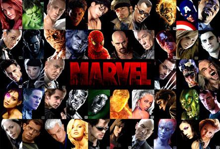 все герои марвел