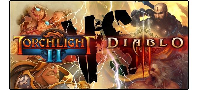 Diablo III против Torchlight II