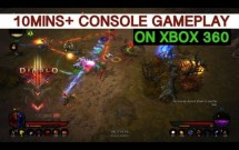 Diablo 3 Console Version - 10mins+ Gameplay on Xbox 360