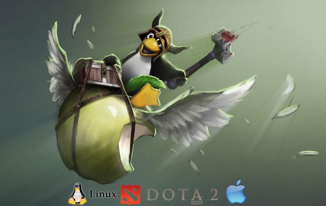 Dota 2 клиент для Mac / Linux