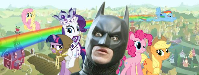 my little pony, Batman