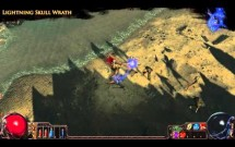 Path of Exile - Lightning Skull Wrath Aura Effect