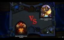 Hearthstone: Heroes of Warcraft - Paladin vs. Warrior
