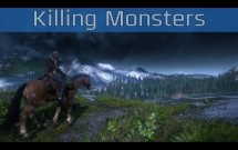 The Witcher 3: Wild Hunt - Killing Monsters Cinematic Trailer [HD 1080P]