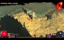 Path of Exile - Infernal Skull Anger Aura Effect